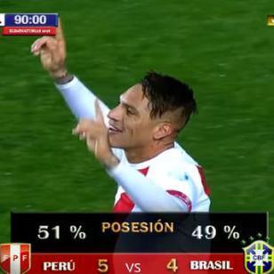 ¿Perú le ganará 5-4 a Brasil como muestra este video?