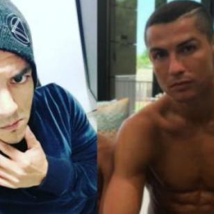 ¿Ya viste el nuevo look de Renzo Winder a lo Cristiano Ronaldo? [FOTO]