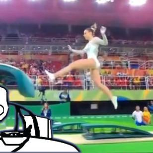 ¿Esta fue la peor rutina de gimnasia artística en Río 2016?