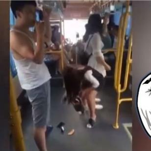 ¡Le bajó el pantalón a un pasajero y lo peor vino después!