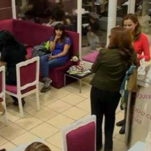 ¿Cómo reaccionó un grupo de chilenos al ver que discriminan a una peruana? Mira el video